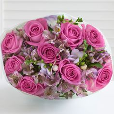 Postal Rose Freesia Alstroemeria #nextflowers