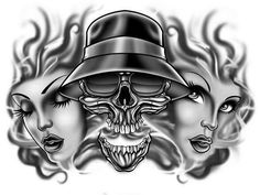all raiders - Cool Graphic Raiders Girl, Raiders Fans, Raiders Vegas, Raiders Stuff, Chicano Love, Chicano Art, Chicano Drawings, Art Drawings, Minions