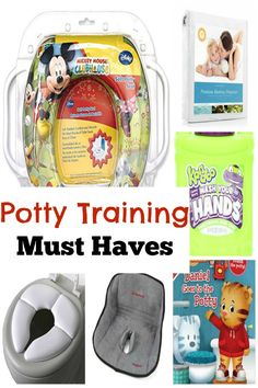 Every parent should read this! Make sure you have all of these potty training must haves on hand to make potty training easier on you and your child