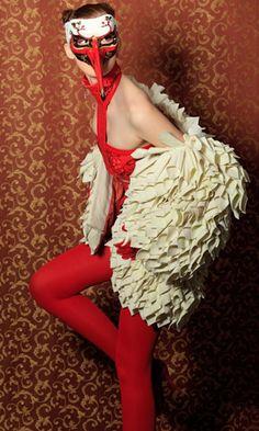 "Modeconnect.com features work from Omsk ""Fashion Formula: East – West competition. Irina YaruKhina – 2011"
