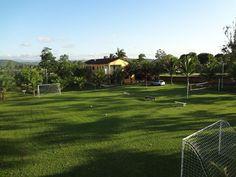 casa Itaboraí - Vista do Campo society,Quadra de Voleibol e Quadra de Peteca