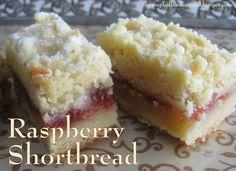 Swamp Hollow Designs: Treat Bag Tuesday - Raspberry Shortbread