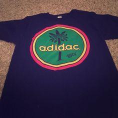 Tillys, Men's T-shirt Size: S Black, green, yellow and red Tillys shirt. Adidas Tops Tees - Short Sleeve