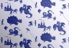 Buy online, PaperBoy kids wallpaper Ere-be- Dragons in Red. A boy's wallpaper in a powder blue with dragons & a feisty boy in cherry red. Boys Wallpaper, Green Wallpaper, Wallpaper Roll, Beautiful Wallpaper, Blue Wallpapers, Blue Backgrounds, Phone Backgrounds, Traditional Fairy Tales, Blue Dragon
