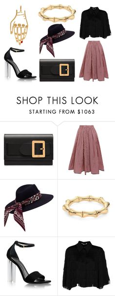 """""""TWO GHOSTS"""" by laura-melissa-cortes on Polyvore featuring Bally, Tome, Gucci, STELLA McCARTNEY y Mulberry"""