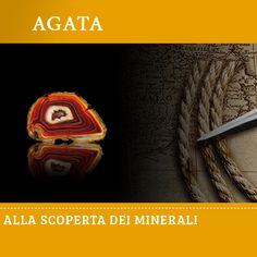 Agata #minerali #natura #scienza #edicola #collezione #fabbripublishing
