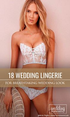 18 Breathtaking Wedding Lingerie ❤ Make your wedding day and wedding-night perfect with a stunning wedding lingerie from our list below. Show your sexiness to your groom! See more: http://www.weddingforward.com/wedding-lingerie/ #weddings #lingerie