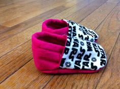 Hot Pink Baby Girl Star Wars Shoes, Soft Sole. $14.50, via Etsy.
