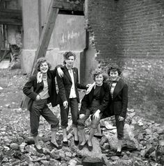 We trace the history of the 50s girl gangs that rebelled against austerity, trading in their ration books for Edwardian frills | The Last of the Teddy Girls	Photography by Ken Russell #subcultures  #history #sociology
