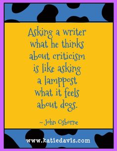 John Osborne writing quote