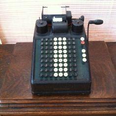 Burroughs Adding Machine