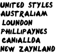 Proud to be a tiny bit CaNiallian but live in the United Styles