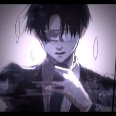 Levi Ackerman_Attack on Titan_Shingeki no kyojin Otaku Anime, Manga Anime, Attack On Titan Funny, Attack On Titan Anime, Anime Kiss, Anime Demon, Fanarts Anime, Anime Characters, Instagram Song