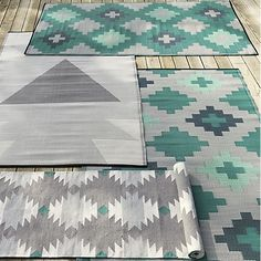 Handwoven Of Polyester Made From Recycled Plastic, Our Beach Reversible Outdoor  Rug Looks And Feels