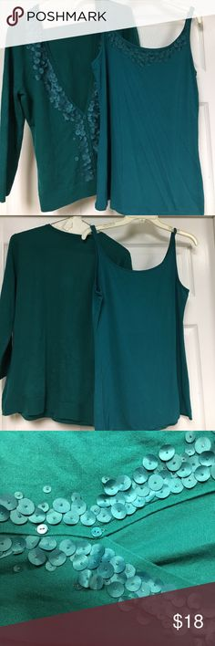 New York & Co sweater and cami New York & Co sweater and matching cami. New York & Company Sweaters