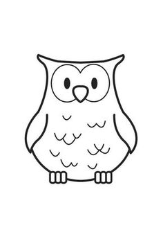 Image detail for -Coloring page Owl - img Owl Patterns, Mosaic Patterns, Embroidery Patterns, Hand Embroidery, Owl Coloring Pages, Free Coloring Sheets, Origami Owl Jewelry, Woodland Creatures, Animal Crafts