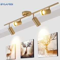 Find More Ceiling Lights Information about Modern Golden Ceiling Lights Wrought Aluminium LED Ceiling Lamps Rail Track Lamps For Living Room Kitchen Home Lighting Fixtures,High Quality Ceiling Lights from BVLAMSSI Official Store on Aliexpress.com Kitchen Table Lighting Fixtures, Country Kitchen Lighting, Modern Kitchen Lighting, Modern Lighting Design, Modern Sconces, Low Ceiling Lighting, Kitchen Ceiling Lights, Led Ceiling Lamp, Hallway Lighting