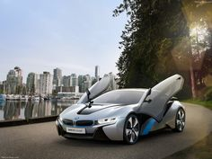 BMW i-8 Concept - Vancouver background