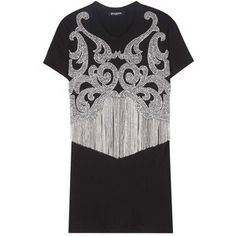 Balmain Cotton Diamond Embellished T-Shirt ($1,230)