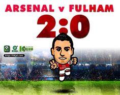 Arsenal 2:0 Fulham