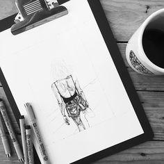 [ Work in Progress ] • Pour me contacter lildotart@gmail.com, sur Etsy (lien direct dans ma Bio), ou encore sur Facebook • #love #draw #drawing #inkonpaper #instadraw #instaart #art #artdrawing #artstagram #dot #dotwork #linework #dotlines #blackwork #tattoo #doodle #sketch #sketchbook #illustration #blackandwhite #lifestyle #lildotart #annabellejsc #woman #fashion #mode #levis #denim #basic