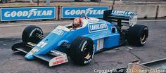 1987 GP USA (Detroit) Osella FA1I - Alfa Romeo (Alex Caffi)