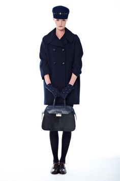 Kate Spade New York | Fall 2014 Ready-to-Wear Collection | Style.com (Look 29 - coat)