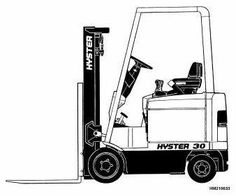 33 Best hyster images   Trucks, Circuit diagram, Manual H H Sel Wiring Diagram Hyster Forklifts on