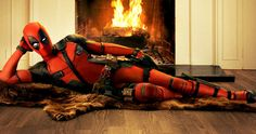 'Deadpool': Ryan Reynolds Revealed in Full Costume! -- Ryan Reynolds parodies the infamous Burt Reynolds bearskin rug photo, revealing the full costume for his upcoming 'Deadpool'. -- http://www.movieweb.com/deadpool-movie-photo-ryan-reynolds-costume