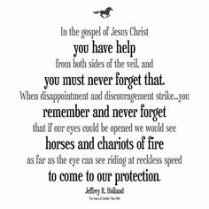 ....riding at reckless speed to come to our protection