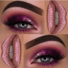 Pink glam!  @makeupthang @makeupthang @makeupthang ✨✨ #amazing #auroramakeup #anastasiabeverlyhills #beauty #beautiful #eyes #eyemakeup #fashion #girls #instamood #instalove #lips #makeup #maquiagem #mua #maquillage #maccosmetics #hudabeauty...