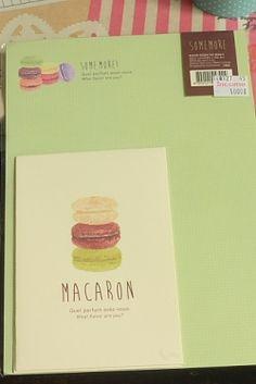 Photo1: Kawaii Letter Set - macaron