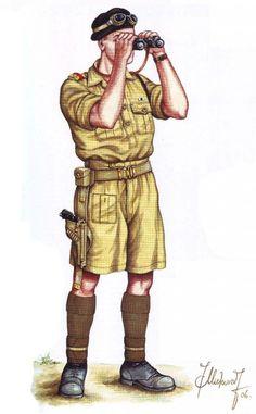 BRITISH ARMY - Soldato di Fanteria, Battaglia di Gazala, Tobruk 1942