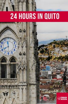 Things to do in Quito, Ecuador. It's so much more than just a gateway to the Galapagos Islands Stuff To Do, Things To Do, Cool Stuff, Quito Ecuador, Galapagos Islands, City Guides, South America, Big Ben, Urban