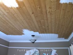 Image result for distressed tongue and groove paneling