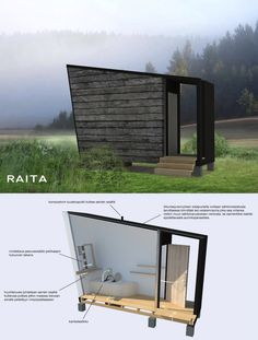 Where to go, when you gotta go Modern outhouse design Outdoor Toilet, Outdoor Baths, Small Toilet, Composting Toilet, Small Buildings, Outdoor Landscaping, Outdoor Life, Beautiful Dream, Interior And Exterior