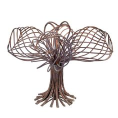 Val Bertoia : 4 Bulb Tree Sculpture | From a unique collection of antique and modern sculptures at http://www.1stdibs.com/furniture/more-furniture-collectibles/sculptures/val-bertoia-4-bulb-tree-sculpture/id-f_1191134/.