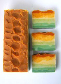 PEYOTE  Citrus Sage Artisan Soap Cold Process by SoapForYourSoul,