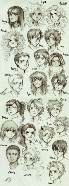 Characters of Percy Jackson and the Olimpians and of The Heroes of Olympus/Personagens de Percy Jackson e os Olimpianos e de Heróis do Olimpo Percy Jackson Fandom, Arte Percy Jackson, Dibujos Percy Jackson, Percy Jackson Characters, Percy Jackson Memes, Percy Jackson Books, Clarisse Percy Jackson, Grover Percy Jackson, Percy Jackson Fan Art Funny