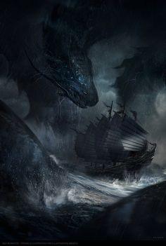 Sea Monster, Juan Pablo Roldan on ArtStation at http://www.artstation.com/artwork/sea-monster-71f92cf8-e5c2-4583-99bf-cc85ab08baa2