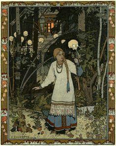 1900-vassilissa-03 Ivan Bilibine