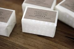 Humunuku soap packaging