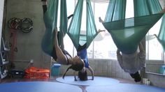 The Wellness Experiment: Aerial Yoga & IV Drip!