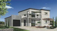 Maison Moderne SHANGAI RT2012 : MTLF, constructeur maison individuelle RT2012