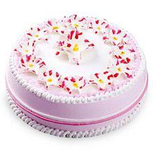 A good gift for girlfriend: Daisy Christening Cake #giftsforgirlfriend #giftforgf #giftforgirlfriend #girlfriendgift #bestgiftsforgirlfriend