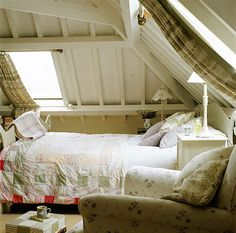 attic bedroom.   Little Women