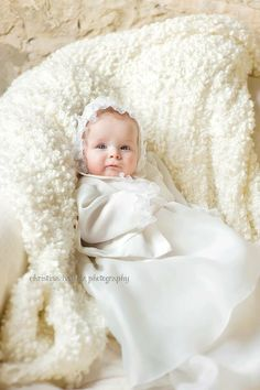 Baby baptism photography. Christina Bailitz Photography