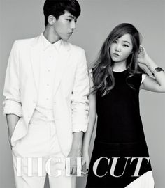 Akdong Musician, Nam Joo Hyuk and Lee Ha Eun - High Cut Magazine Vol.128