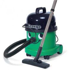 Numatic George Wet & Dry Bagged Vacuum Cleaner in Green