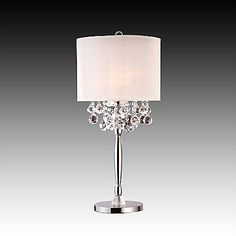 This for the Living room - $140. 422-721 - HomeBasica Crystal Table Lamp